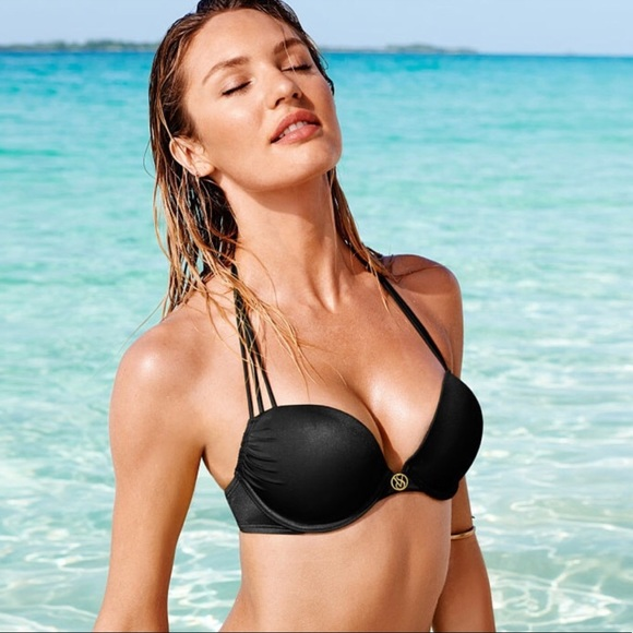 a154c269c0e Victoria's Secret Swim | Victorias Secret Black Bombshell Top | Poshmark